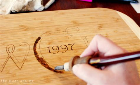 Diy Wood Burning Cutting Board