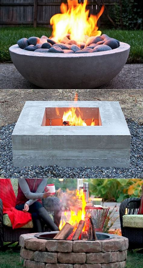 Diy Wood Burning Fire Pit Table