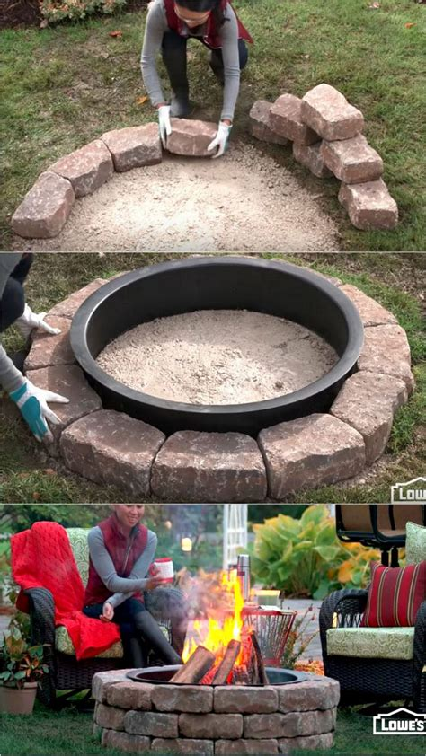 Diy Wood Burning Fire Pits