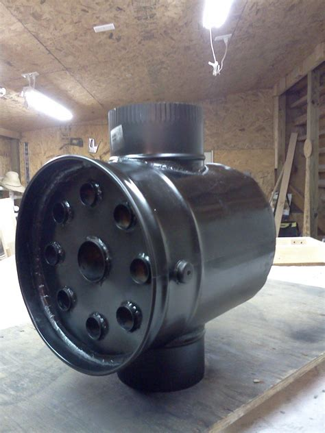 Diy Wood Burning Heat Exchanger