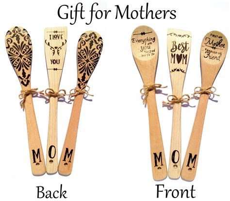 Diy Wood Burning Mothers Day Gift