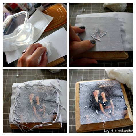 Diy Wood Burning Onto Picture Transfer