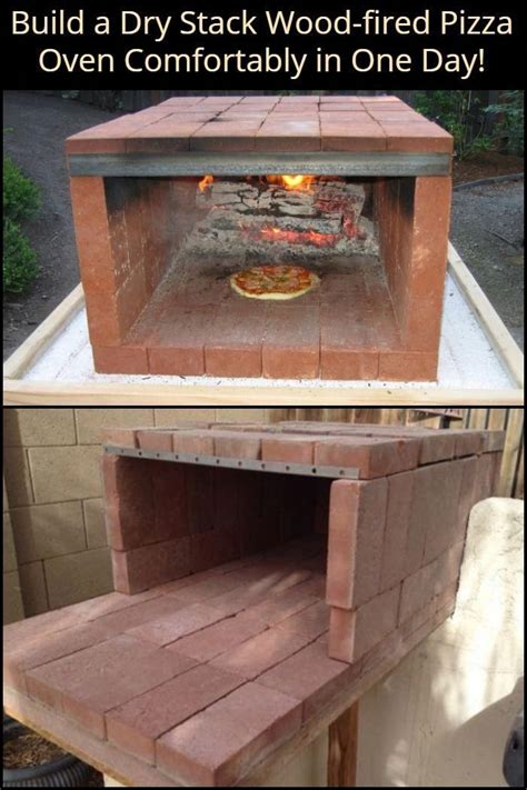 Diy Wood Burning Oven With Firebox