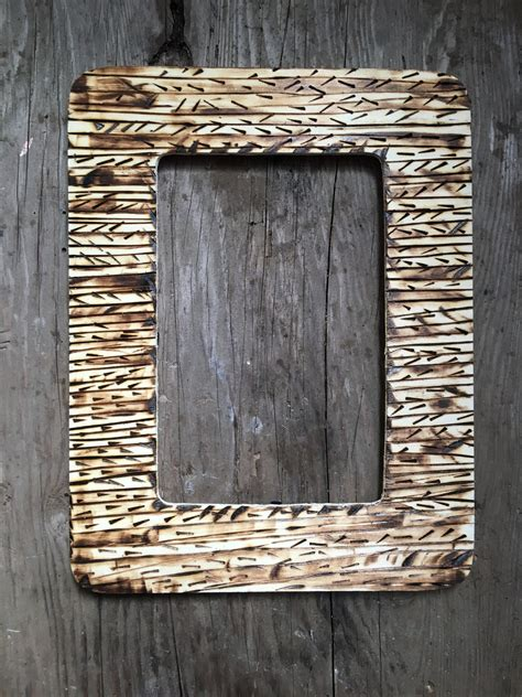 Diy Wood Burning Picture Frames