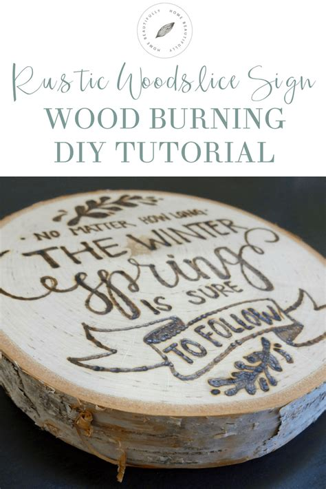 Diy Wood Burning Rustic Sign Ideas