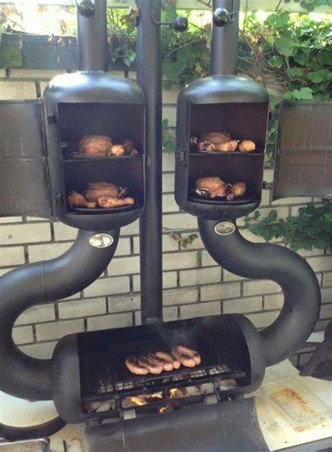 Diy Wood Burning Smoker Grills