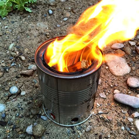 Diy Wood Burning Stove Backpacking