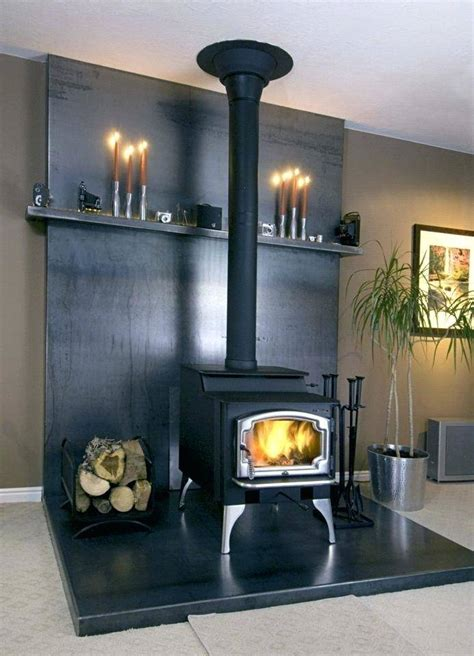 Diy Wood Burning Stove Wall Protection