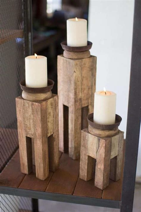 Diy Wood Candle Sconce Plans
