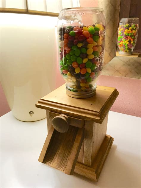 Diy Wood Candy Dispenser Plans