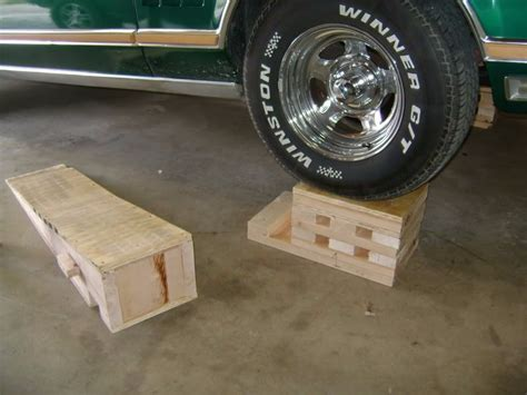 Diy Wood Car Ramps