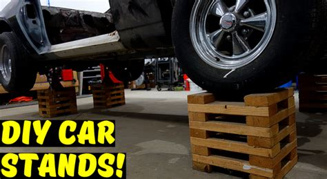 Diy Wood Car Stands Tires