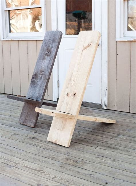 Diy Wood Chair Projects Made