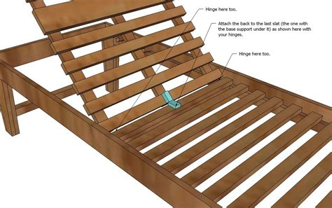 Diy Wood Chaise Lounge Plans Reclining With Wheels