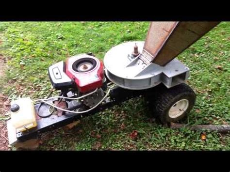 Diy Wood Chipper Plans From Lawnmower