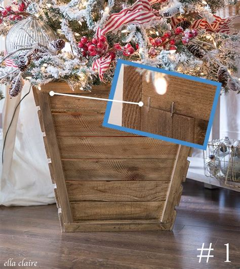 Diy Wood Christamas Tree Box