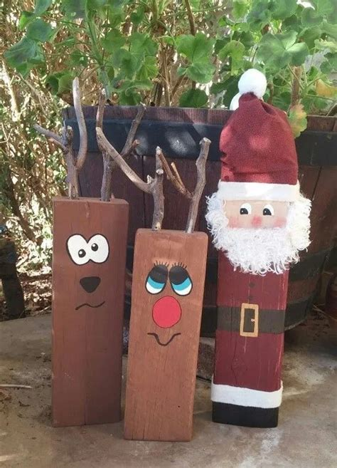 Diy Wood Christmas From Planks Workout