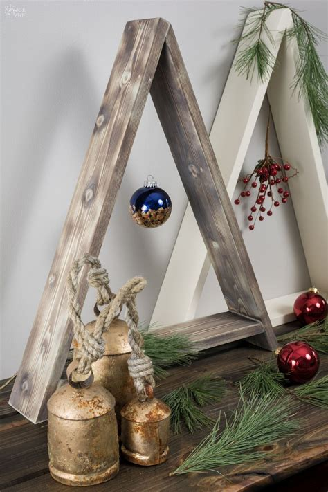 Diy Wood Christmas Tree Decorations