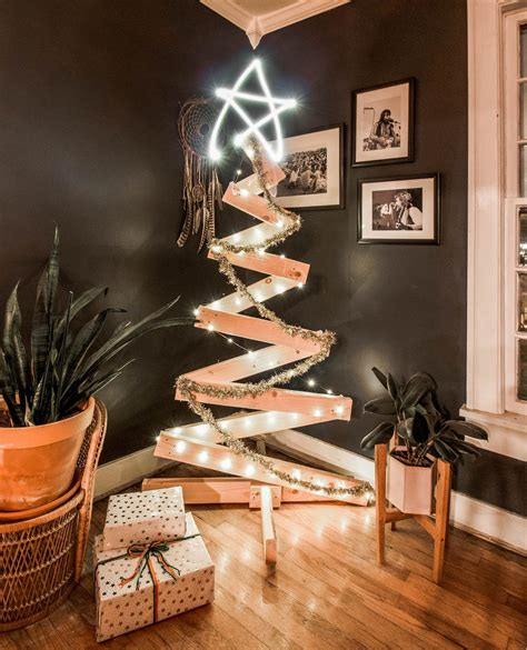 Diy Wood Christmas Tree Modern