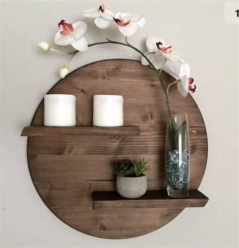 Diy Wood Circle Shelf Target