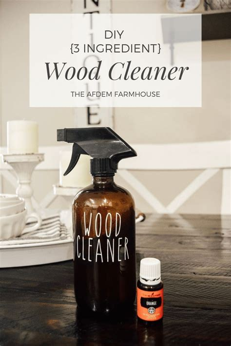 Diy Wood Cleaner Oil