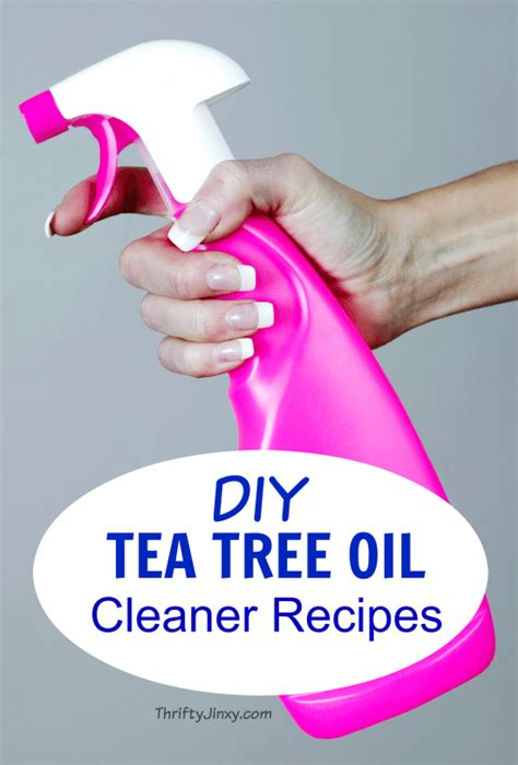 Diy Wood Cleaner With Tea Tree Oil