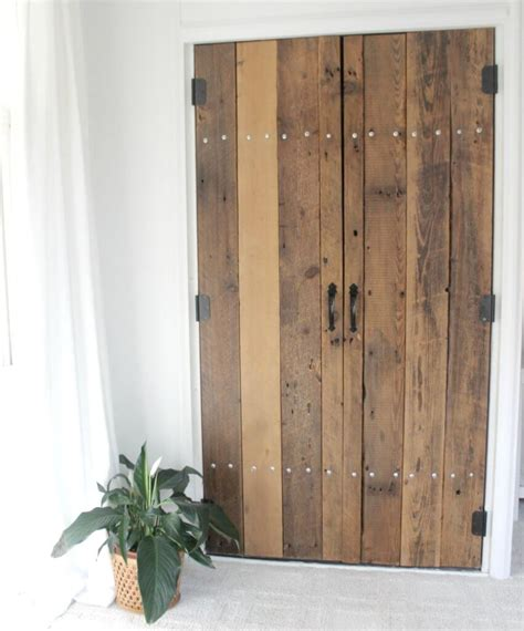 Diy Wood Closet Doors