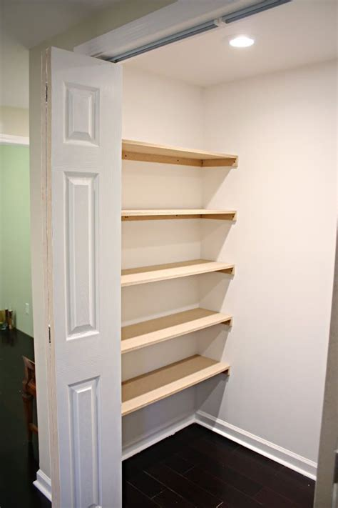 Diy Wood Closet Shelves Cleat Skins