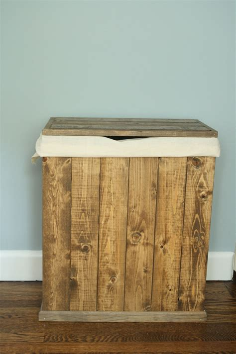 Diy Wood Clothes Hamper
