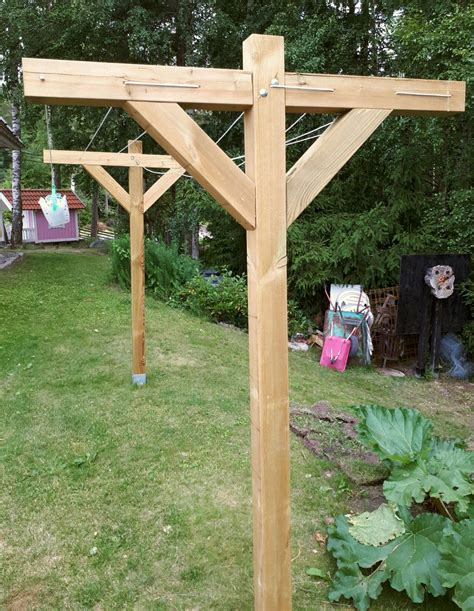 Diy Wood Clothesline