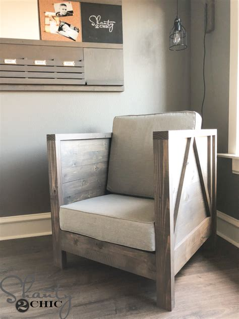 Diy Wood Club Chair