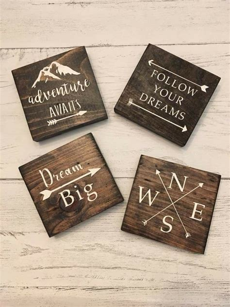 Diy Wood Coaster Ideas For The Cricut