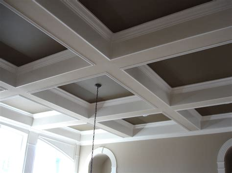 Diy Wood Coffer Ceiling Tiles