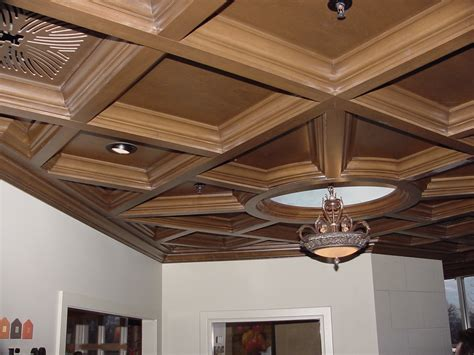 Diy Wood Coffered Ceiling Panels