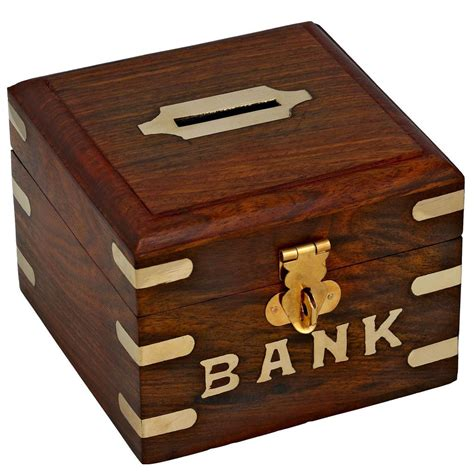 Diy Wood Coin Bank