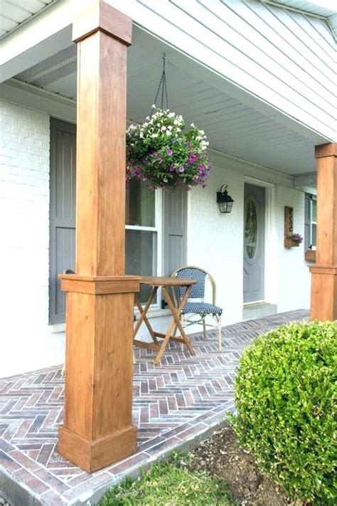 Diy Wood Columns For Basement Plans