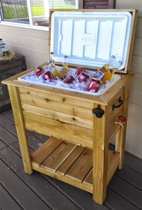 Diy Wood Cooler Chest