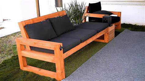 Diy Wood Couch Plan