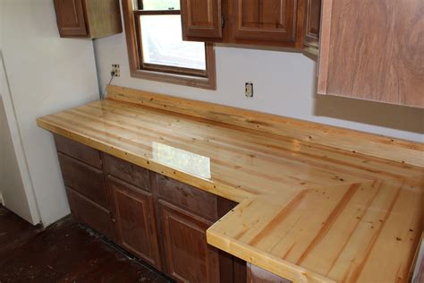 Diy Wood Counter Over Laminate Countertops