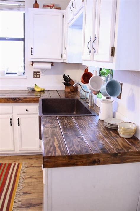 Diy Wood Countertops For Kitchen