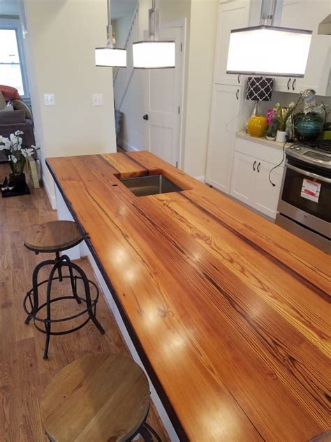 Diy Wood Countertops For Kitchens
