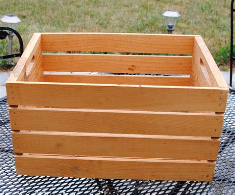 Diy Wood Crate Plans
