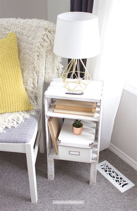Diy Wood Crate Side Table