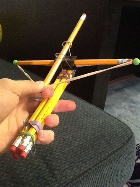 Diy Wood Crossbow Pencil Shooters