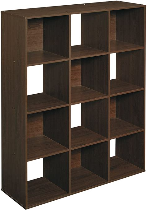 Diy Wood Cube Bookshelf With Wheels