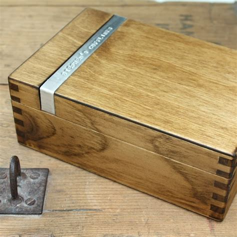 Diy Wood Cufflinks Box