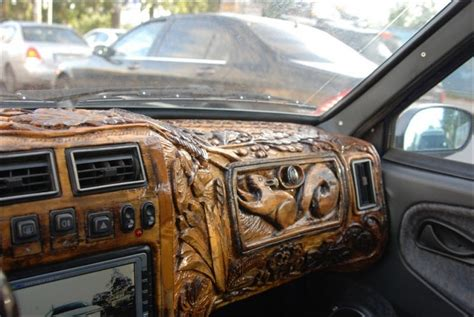 Diy Wood Dash For Cars