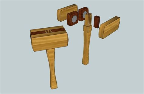 Diy Wood Dead Blow Mallet