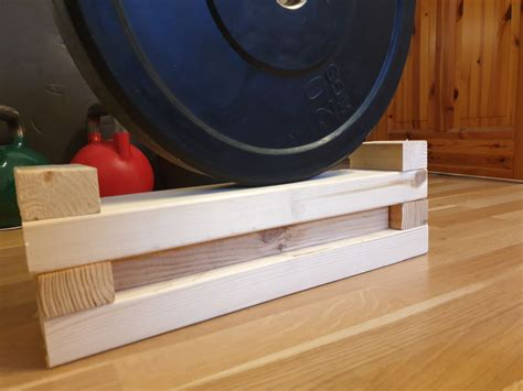 Diy Wood Deadlift Blocks For Sale