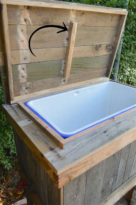 Diy Wood Deck Cooler How To